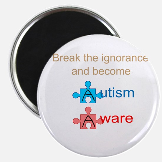 "Autism Aware 2.25"" Magnet (10 pack)"