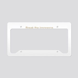 Autism Aware License Plate Holder
