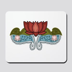 """Red Lotus"" Mousepad"