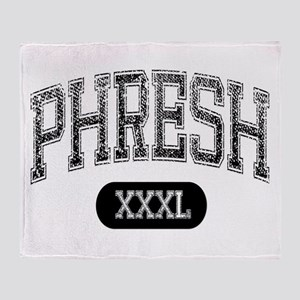 Phresh Throw Blanket