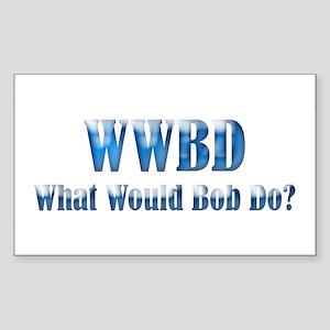 WWBD Rectangle Sticker