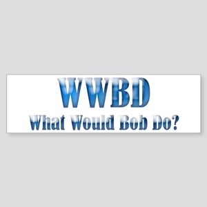 WWBD Bumper Sticker