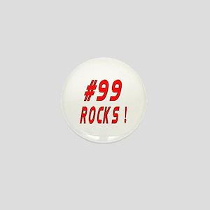 99 Rocks ! Mini Button