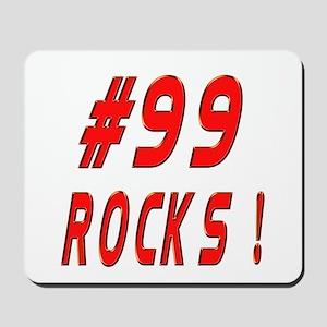 99 Rocks ! Mousepad