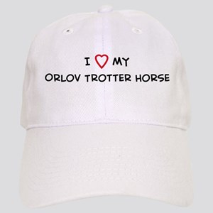 I Love Orlov Trotter Horse Cap