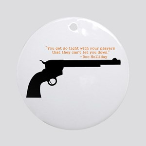 Doc Holliday Ornament (Round)