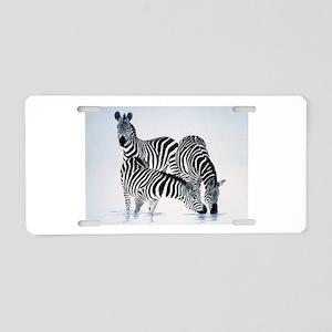 Animal Aluminum License Plate