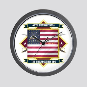 69th Pennsylvania Wall Clock