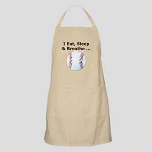 Baseball Eat Sleep Breathe Apron