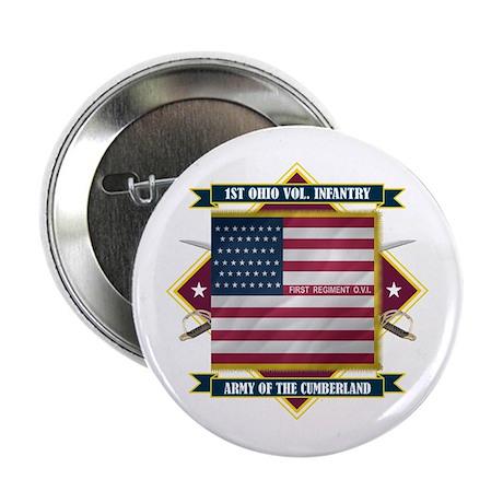 "1st Ohio Volunteer Infantry 2.25"" Button"