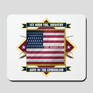 1st Ohio Volunteer Infantry Mousepad