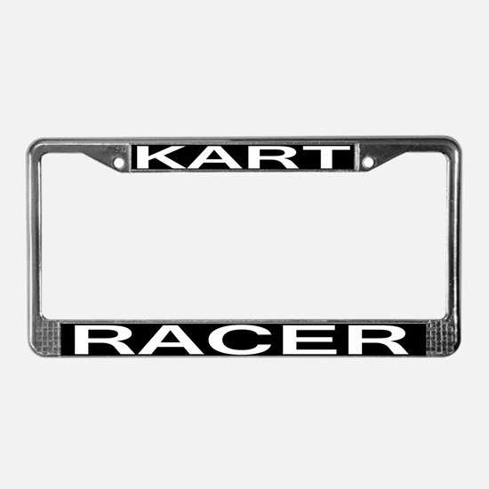 Kart Racer License Plate Frame
