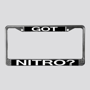 GOT NITRO License Plate Frame