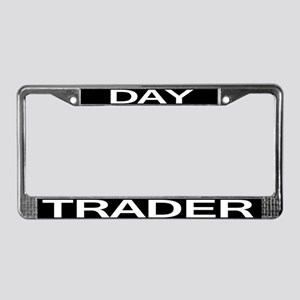 DAY TRADER License Plate Frame