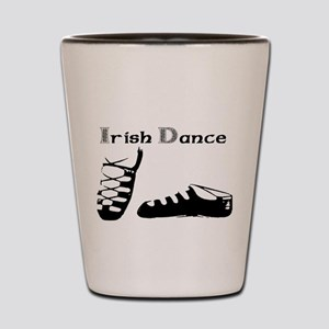 For the Irish Dancer Shot Glass