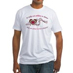 It Takes An Athlete To Dance Fitted T-Shirt