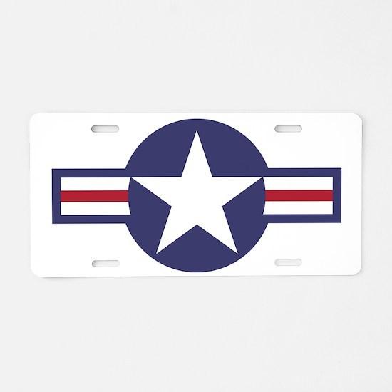USA Roundel Aluminum License Plate