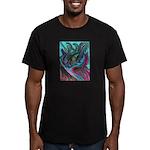 Valley Cat 5 Men's Fitted T-Shirt (dark)