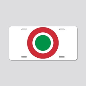 Italy Roundel Aluminum License Plate