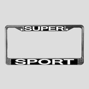 Super Sport License Plate Frame