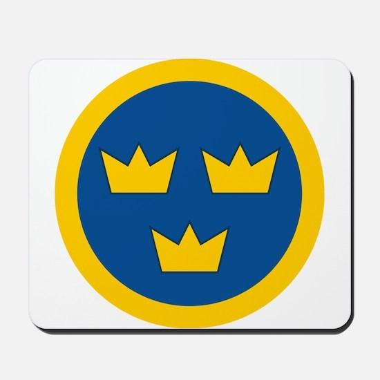 Sweden Roundel Mousepad