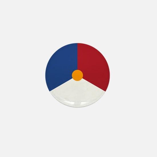 Netherlands Roundel Mini Button