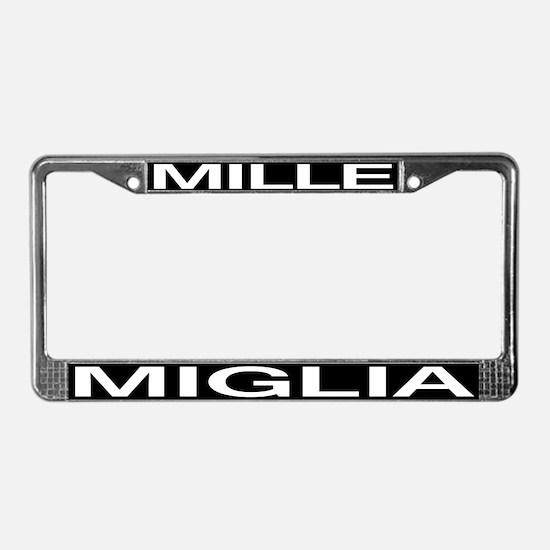 Mille Miglia License Plate Frame