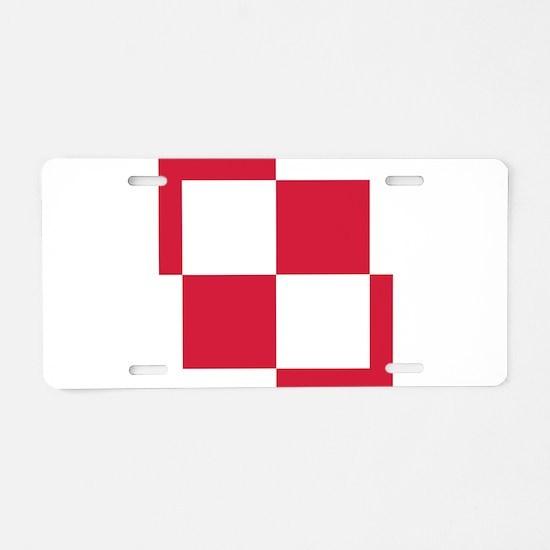 Poland Roundel Aluminum License Plate