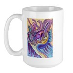 Valley Cat 1 Large Mug