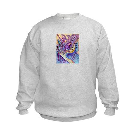 Valley Cat 1 Kids Sweatshirt