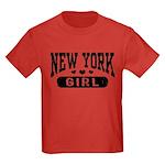 New York Girl Kids Dark T-Shirt