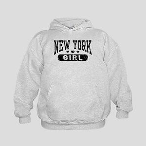 New York Girl Kids Hoodie