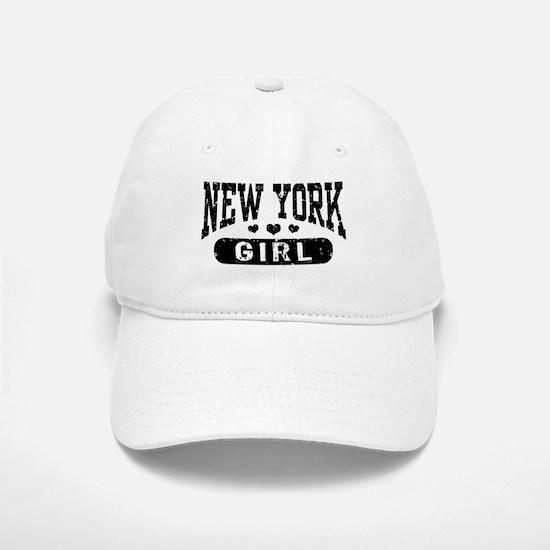 New York Girl Baseball Baseball Cap