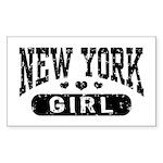 New York Girl Sticker (Rectangle)