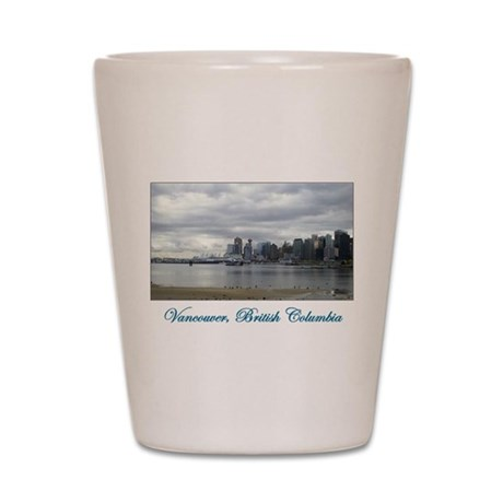Downtown Vancouver BC Shot Glass