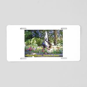 BG, VI Sturgeon Fountain Aluminum License Plate
