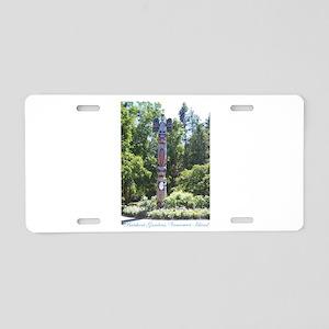Totem Pole, BG, VI Aluminum License Plate