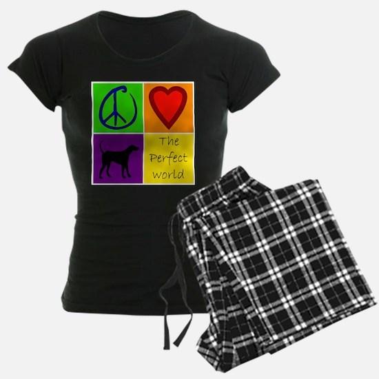 Perfect World: Black Lab Pajamas