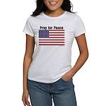 PrayPeaceWithFlag T-Shirt