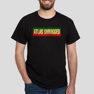 "ATLAS SHRUGGED T w/""Who is John Galt?"" o"
