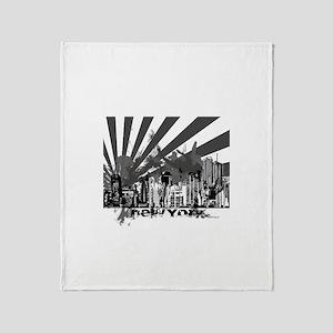 New York Style Throw Blanket