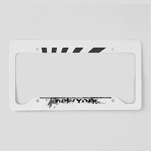 New York Style License Plate Holder