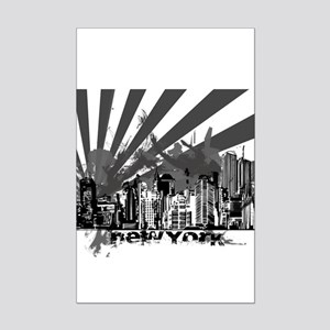 New York Style Mini Poster Print