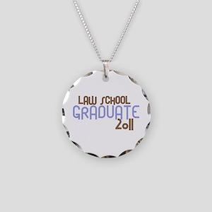 Law School Graduate 2011 (Retro Purple) Necklace C