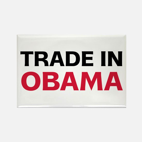 Trade In Obama 2012 Rectangle Magnet