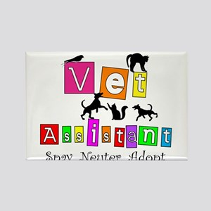 Cat Lovers/Veterinary Rectangle Magnet