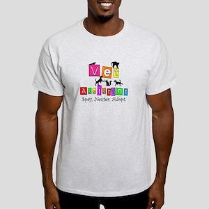 Cat Lovers/Veterinary Light T-Shirt