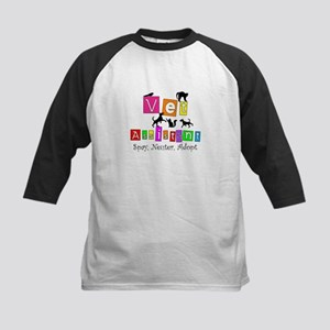 Cat Lovers/Veterinary Kids Baseball Jersey