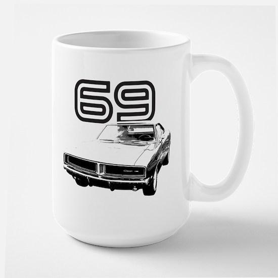 1969 Charger Large Mug