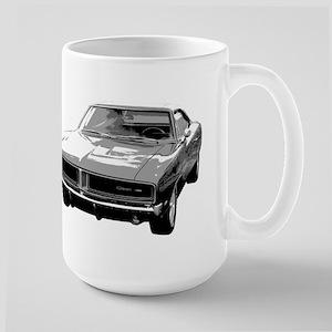 69 Charger Large Mug